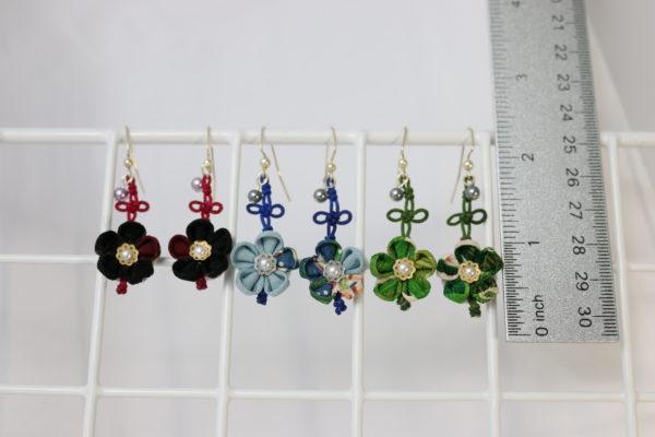 Asianknot/flowerEarring