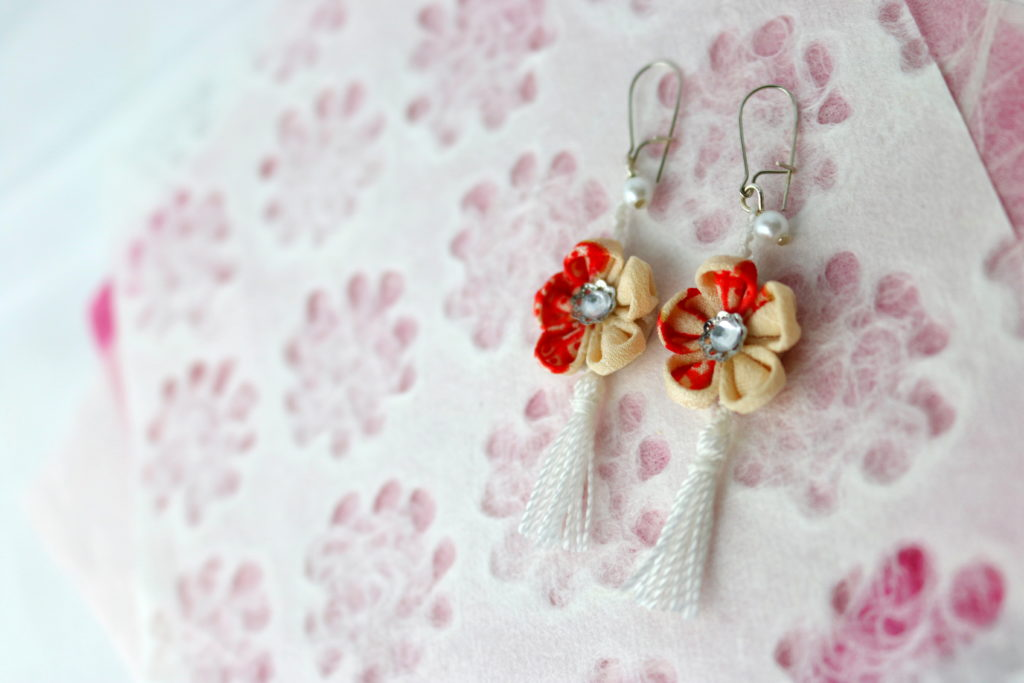 Flower/TasselErarring_Red